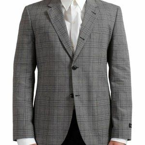 Marc Jacobs Checkered Two Buttons Blazer